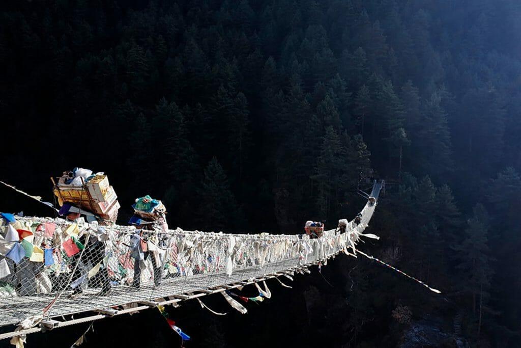 Le Népal pas banal de Bertrand Trichet